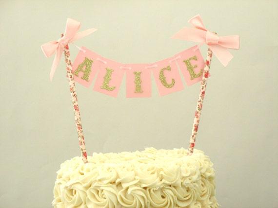 Tea Party Cake Topper