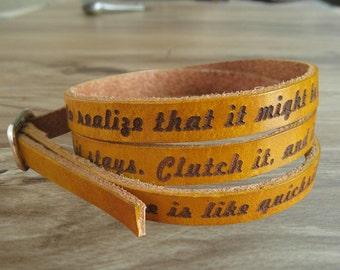 Leather wrap bracele, engraved bracelet personalized bangle wrist bracelet, leather bracelet womens cuff bracelet homme, Mothers Day Gift