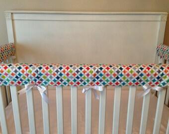 Crib Rail Cover/ Crib Rail Pad, Set of 3, Create Your Own!