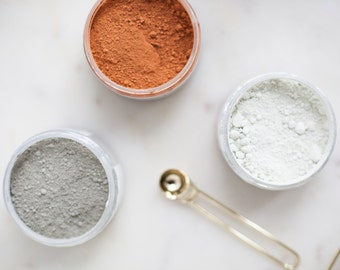 Red Clay and Aloe Clay Mask