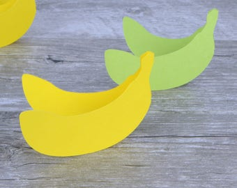 Banana Place Cards Set of 24