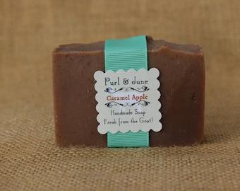 Caramel Apple Goat Milk Soap