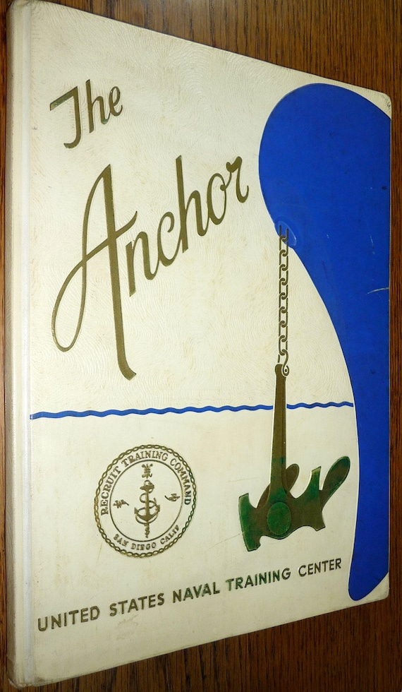 United States Naval Training Center Yearbook 1965 - The Anchor Company 621 Military Navy Vietnam Era