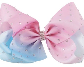 Pink & Blue Ombre Bow