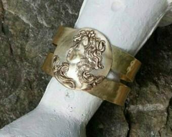 Hand made cuff bracelet.