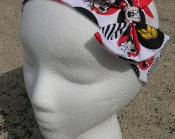 Minnie Mouse Headband with or without bow, Disney, Disney World, Bowtastic