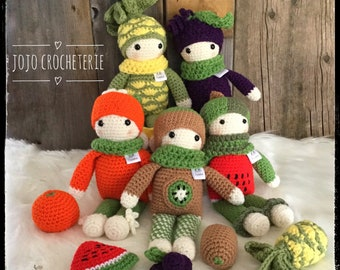 NEW! Baby fruit/vegetables, fruit/vegetable, fruit doll blanket, doll.