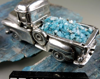 Apatite Blue Inlay Crushed #31, Crushed Apatite Inlay, Wood Inlay, Jewelry Inlay, Chip Inlay, Gift Inlay, Hand Crushed by 49erMinerals