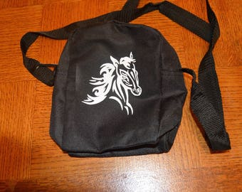 Bag tribal horse personalized with name
