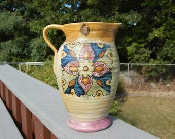 Weller Pottery Barcelona Ware Art Deco Pitcher