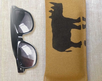 Felt Rhino Pouch for Mobile Sunglasses & Spectacles Free Shipping Australia Wide