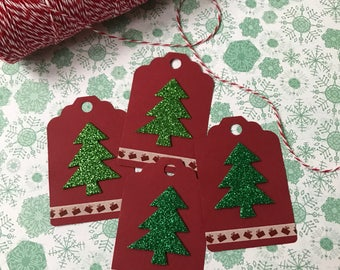 Christmas Tags, Handmade Christmas Tags, Gift Tags