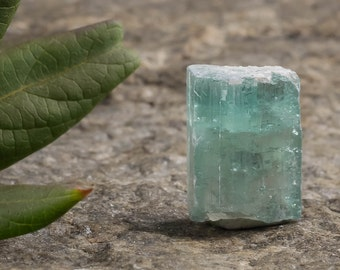 3.7g Blue TOURMALINE Crystal from Namibia - for Jewelry Making, Raw Tourmaline Ring, Tourmaline Necklace & Rough Tourmaline Jewelry 23362
