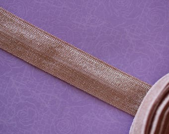 old pink elastic Ribbon