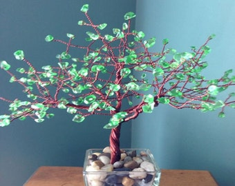 Large Brown Copper Tree