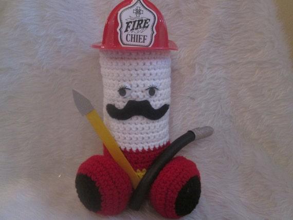 Man Cave Gag Gifts : Penis fireman plush gag gift retired