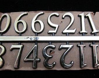 Steampunk Watch Clock Parts Vintage numbers Numerals Industrial Art Grab Bag RJ 59