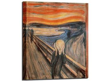 Edvard Munch The Scream Canvas Art Canvas Wall Art Ready to Hang Home Decor Canvas Wall Art Print Ready to Hang Wall Decor