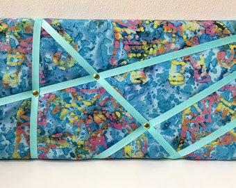 Rectangle Memo/Notice Board -  Batik Print