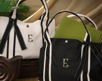 Personalized Canvas Tote Bag - Monogrammed Tote Bag - Mother's Day Gifts - Gifts for Her - Bridesmaid Gifts - Gifts for Mom - GC675