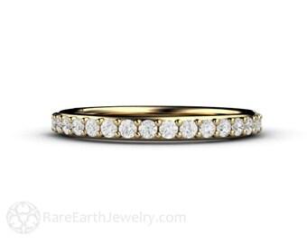 Diamond Wedding Band Diamond Diamond Anniversary Band 14K or 18K Gold or Platinum Conflict Free Diamond Ring