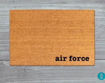 Air Force Doormat, Air Force Door Mat, Air Force Welcome Mat, Air Force Mat, Military Doormat, Air Force Rug, Military Door Mat, Army Gift