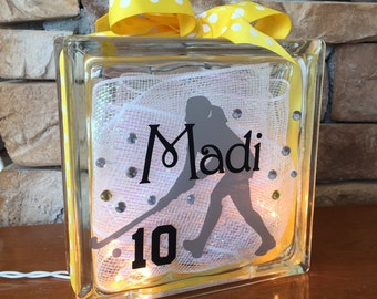 Field Hockey GemLight, Personalized, Gifts for Field Hockey, Home Decor