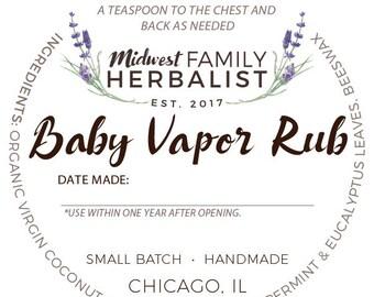 Baby Vapor Rub