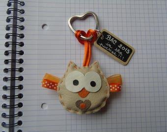 Tray 2015: Door original key and handmade OWL Leinloune!
