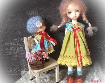 Blythe Doll Dress Pure Neemo S JerryBerry Licca Uku iMda 2.2 Pullip