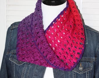 Sorell Cowl, Crochet Pattern, Quick DIY, Pattern Only, Make your own, Crochet Cowl