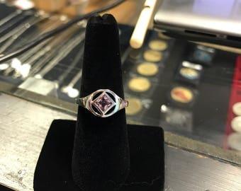 NA Silver Ring