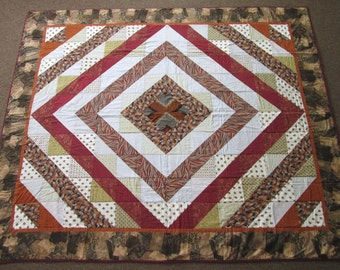 Wood Patchwork Quilt by Bunlay