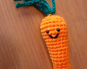 PDF CROCHET PATTERN -  Amigurumi Carrot Plush