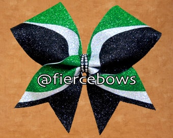 Double Eagle Glitter Bow - Pick Your Colors