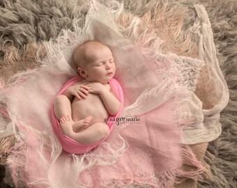 Newborn photo prop SET of 3, 5 and 10 / linen blanket / newborn photography posing blanket / basket filler / basket stuffer / photo outfit