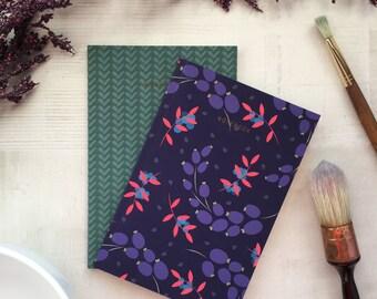 Fancy Fern Notebook / Workbook Set