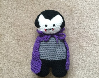 Count Dracula - The Sweet and Loveable Vampire Halloween Friend Toy Doll
