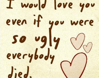 Funny Relationship / Love / Anniversary / Valentines Card