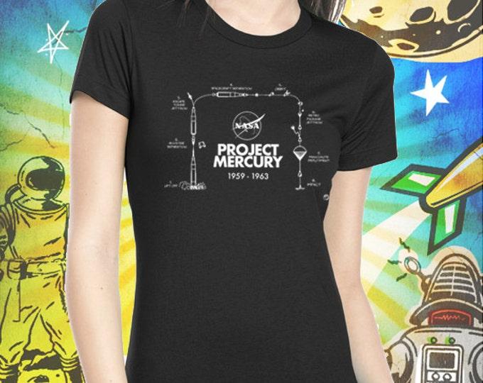 Project Mercury / Women's Black T-Shirt