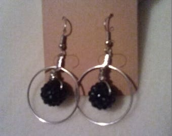 Pointy Beads in Hoops