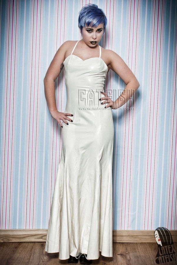 Old Fashioned Latex Evening Gown Gift - Images for wedding gown ...