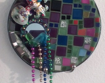 Mardi Gras wall plate