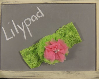 Lilypad Girls Headband