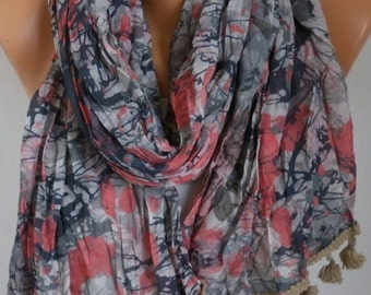 mother's day gift,Camouflage Cotton Scarf, Spring summer shawl,Gift Ideas For Her Women Fashion Accessories