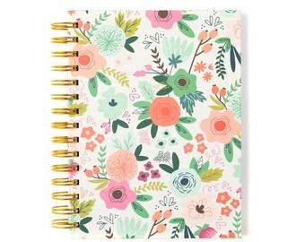 Notebook-Spiral Floral