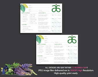 Arbonne Raffle Entry, Arbonne Info Cards, Instant download - Digital files supplied only, AB15