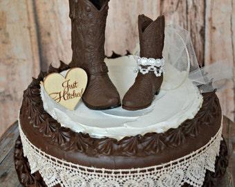 Western cake topper | Etsy