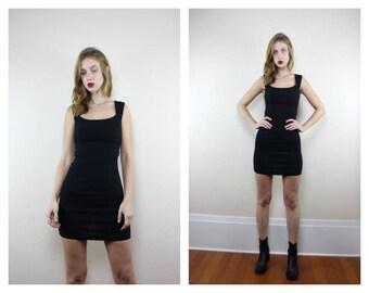 90s XOXO Little Black Dress Size 3/4 (Small)
