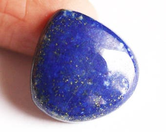 High Grade Natural Blue Lapis Lazuli Cabochon, Gemstone From Afghanistan, Crystal Healing, Chakra, Minerals, Jewellery Craft Suppliers, 3045